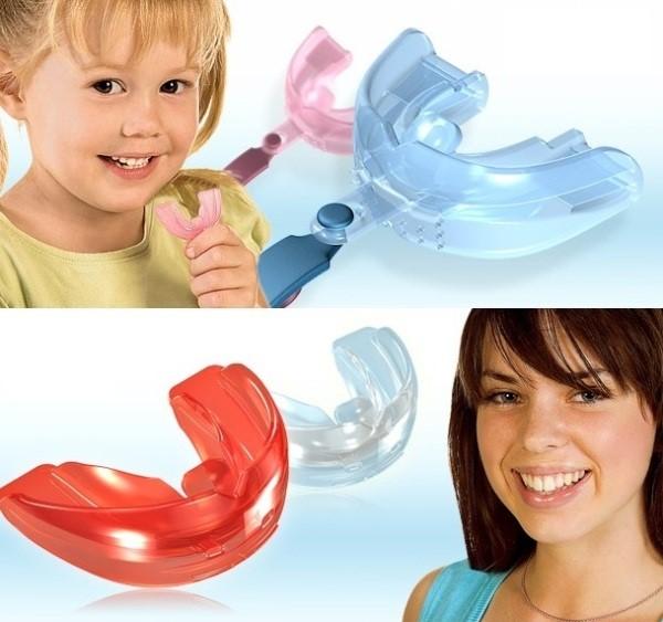 Выравнивание зубов с помощью трейнеров